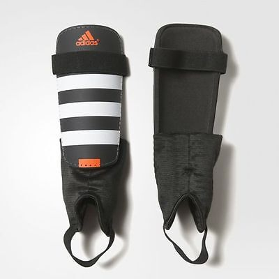 adidas Everclub Black White Solar Red AP7030 Shin Guards