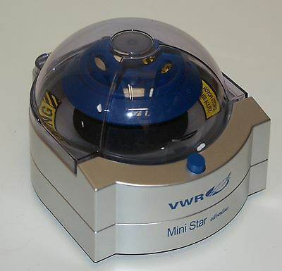 VWR Galaxy Mini Star Silverline Centrifuge and 8 Place 1.5/2 ml Rotor