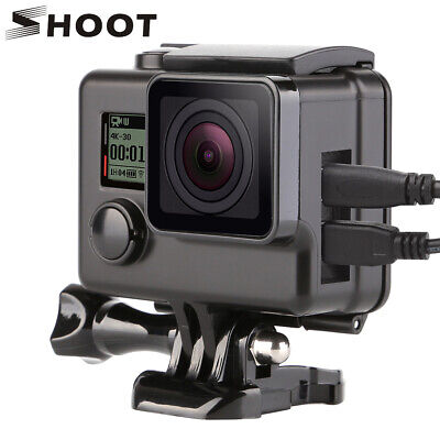 SHOOT Side Opening Protective Skeleton Case Housing Frame for GoPro HD Hero 4 3+