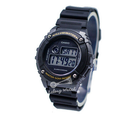 -Casio W216H-1B Digtal Watch Brand New & 100% Authentic