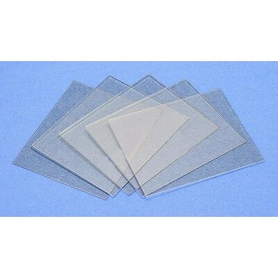 ( x 10) 110mm x 90mm- Clear  Welding  lens / Cover for  Helmet  - New