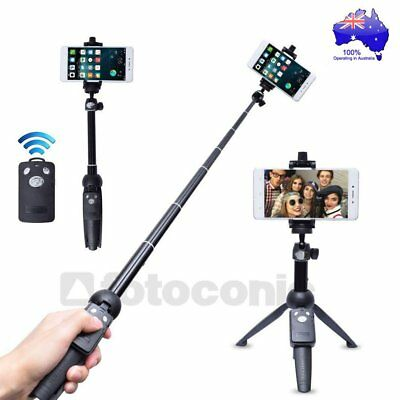 Yunteng YT-228 Mini Selfie Tripod Phone Holder Bluetooth Remote for Camera Phone
