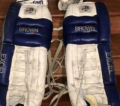 Brown Goalie Gear