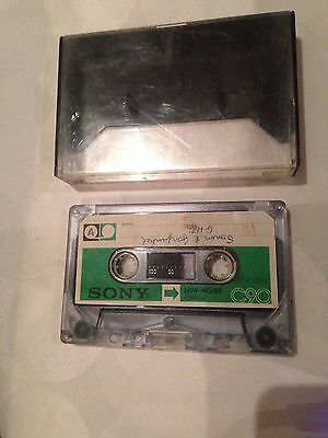 Sony C- 90 90 Minute Cassette Used