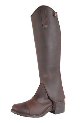 HORKA Jackson Oiled Leather Chaps - Brown