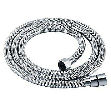 """Plumbing Fittings Oracstar Stainless Steel Large Bore Shower Hose1.25mx1//2/""""x1//2/"""""""