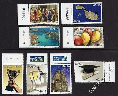Malta 2010 Occasions Greetings Complete Set SG1657 - 1664 Unmounted Mint