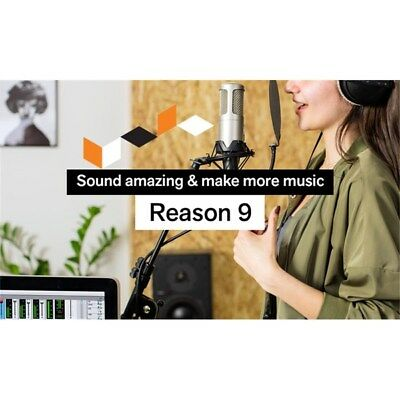 Propellerhead Reason 9 (Student/Teacher License)