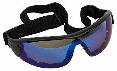Forney 55439 Safety Glasses, Swap Hybrid Glasses/Goggles, Clear Lens