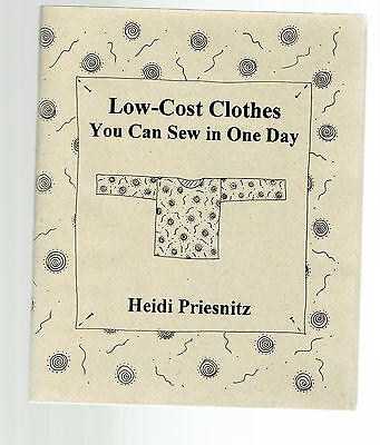 HEIDI PRIESNIZ tpb Low Cost Clothes You Can Sew In One Day illustrated