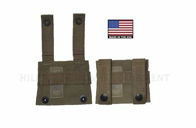 <2> K-Bar Adapters - Coyote Brown / Tan - USMC Military Molle Kbar - New in Bag