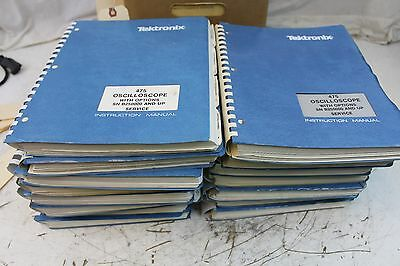 Tektronix 475 Oscilloscope Service Manual Qty 1 EACH