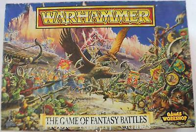 GW Warhammer Fantasy Warhammer Fantasy Battles (4th Edition) Box VG