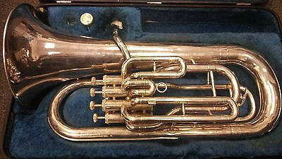 Yamaha YEP-321S Bb 4-valve intermediate euphonium + Jupiter mouthpiece and case