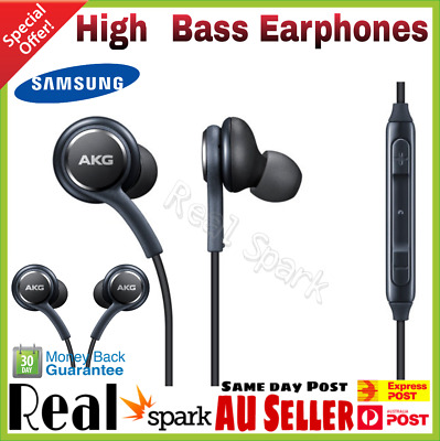 New Samsung Galaxy S8 S8 Plus Earphones Tuned By AKG EO-IG955 - Sydney Seller