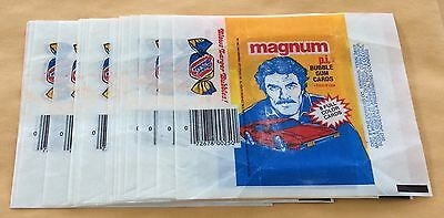 1983 Donruss Magnum P.I. Trading Cards Lot Of 20 Wax Pack Wrappers