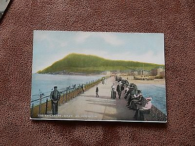 Early postcard  - The Esplanade- Bray Co Wicklow Ireland