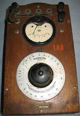 Vintage Roller-Smith Ohmmeter. Best part of 100 years old