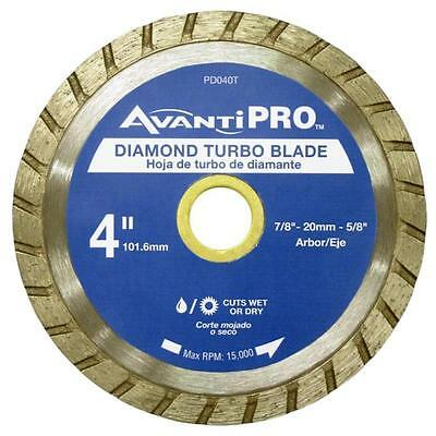 4 in. Turbo Diamond Blade Avanti Pro