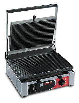 Sirman CORT R Single Panini Grill w/ Grooved Top & Grooved Bottom