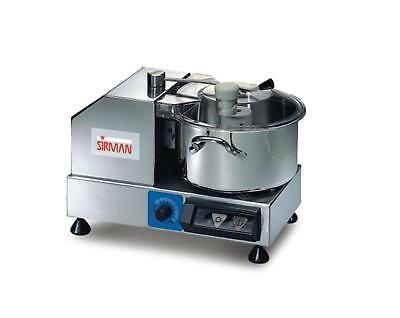 Sirman C4 VV 4 Quart Variable Speed Cutter/Mixer w/ Removeble Bowl