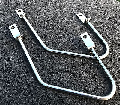 Saddle Bag Holder Honda VT 1100 C Shadow,Chrome,Spacer,Bracket