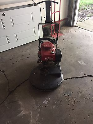 Concrete Polisher with Honda OHV GXV270 engine, Used, Being sold As-is