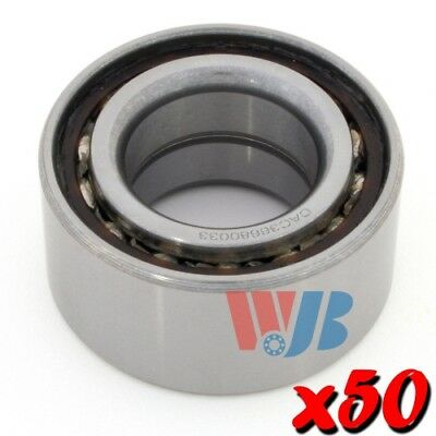 50 x New Front Wheel Bearings WJB WB510001 Cross 510001 FW22 Wholesale Lot