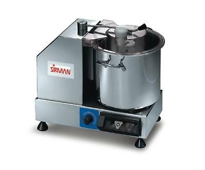 Sirman C6 VV 6 Quart Variable Speed Cutter/Mixer w/ Removable Bowl