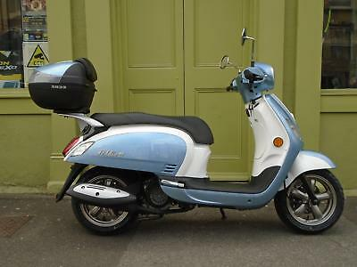 Sym Fiddle3 125cc Scooter With Linked Braking System & Fuel Injection 0% Finance
