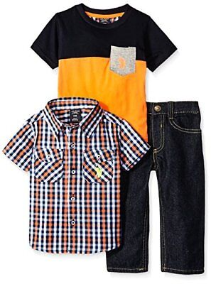 Baby Boys Sport Shirt Childrens Apparel P106120M1 U.S US Polo Assn