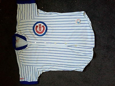 Chicago Cubs Polyester/Cotton Baseball Jersey size L by Rawlings
