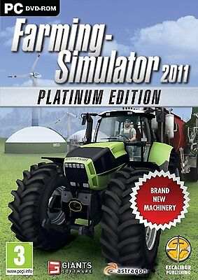 Farming Simulator 2011 - The Platinum Edition (PC DVD) NUOVO NEW ITA