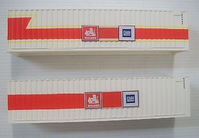 Sds Ho 40 Foot Jumbo Container Holden Pack B
