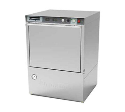 Champion UH-130B Undercounter High Temp Dishwasher 25 Racks/hr 70°F Rise