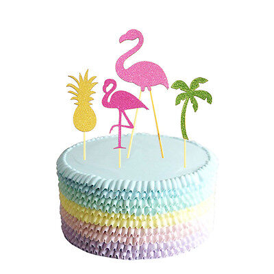 Cake Toppers Happy Birthday Summer Beach Party Decoration Christmas Gift