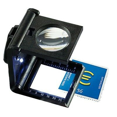Folding 5 x Magnifier - Hand Reader with LED - Lighthouse Product