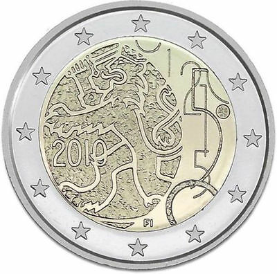 Finland 2010 - 2 Euro Commemorative - 150yrs of Finnish Currency (UNC)