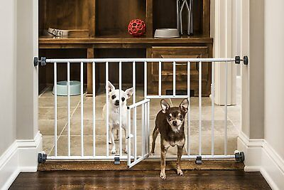 Carlson Puppy / Small Dog Gate Step Over Baby Safety Little Pet Door