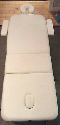Wooden Portable Massage Table 3 Fold - WHITE