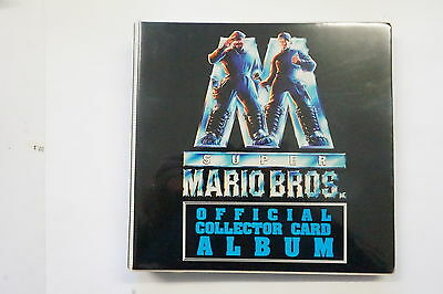 Super Mario Brothers set of 100 cards, 5 prism cards plus Official album 1993