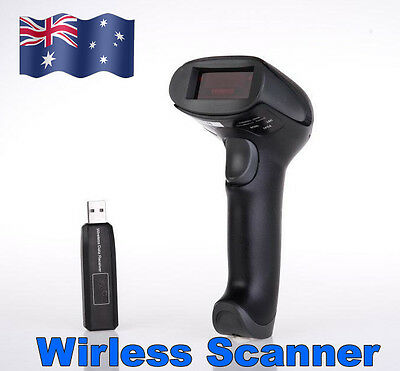 2016 Wireless Cordless Portable Barcode Scanner Reader USB Charging Up to 300M