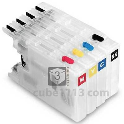 Empty Refillable Ink Cartridge For Brother Lc1280 Lc1220 Mfc J430W J625Dw J825Dw