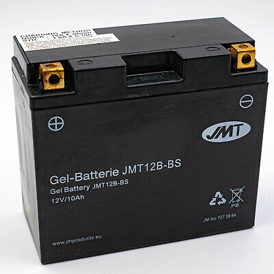 JMT Gel Batterie YT12B-BS 12V Gel Ducati Monster 620 695 696 750 796 DD MD S ABS