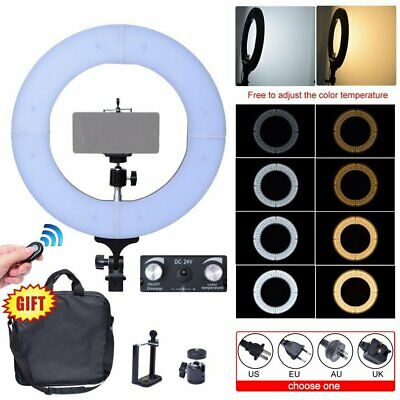 Fotoconic 60W 35cm 2700K~5500K Diva LED Dimmable Ring for Light Studio Make Up
