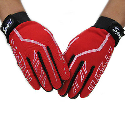 Mens Full Finger Gloves Exercise Fitness Gym & Gloves Yoga Gloves Black