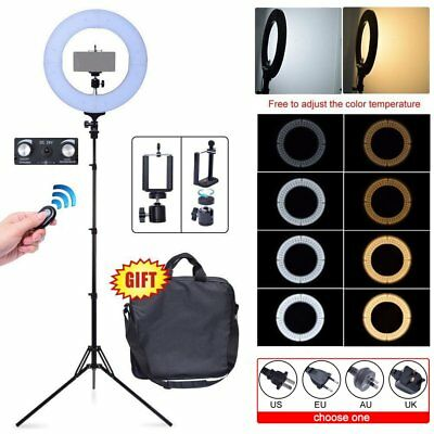 Fotoconic Diva LED Dimmable Ring Light 60W 35cm 2700K~5500K Stand Make Up Studio