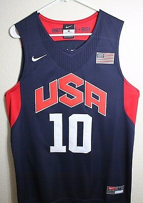 Kobe Bryant 10 Dream Team USA Blue 2012 Olympics Throwback Swingman Men Jersey