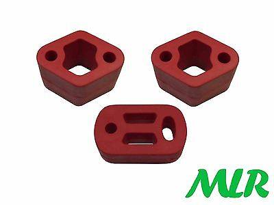 Peugeot 106 Gti Xsi Rallye Red Motorsport Exhaust Mounts Rubbers Hangers Mr