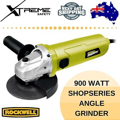 Rockwell 900 Watt ShopSeries Angle Grinder, 125mm Grinding Disc Included